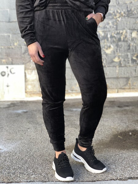 Smooth Moves Velvet Joggers