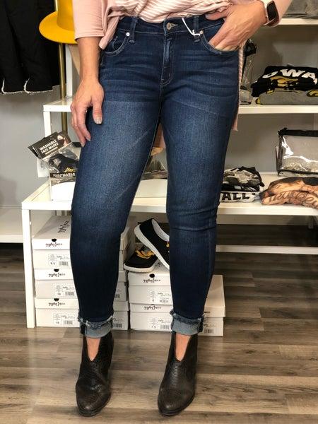 KanCan Gemma Mid Rise Ankle Jeans 21D