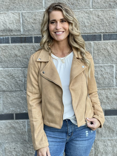 Sueded Thoughts Moto Jacket