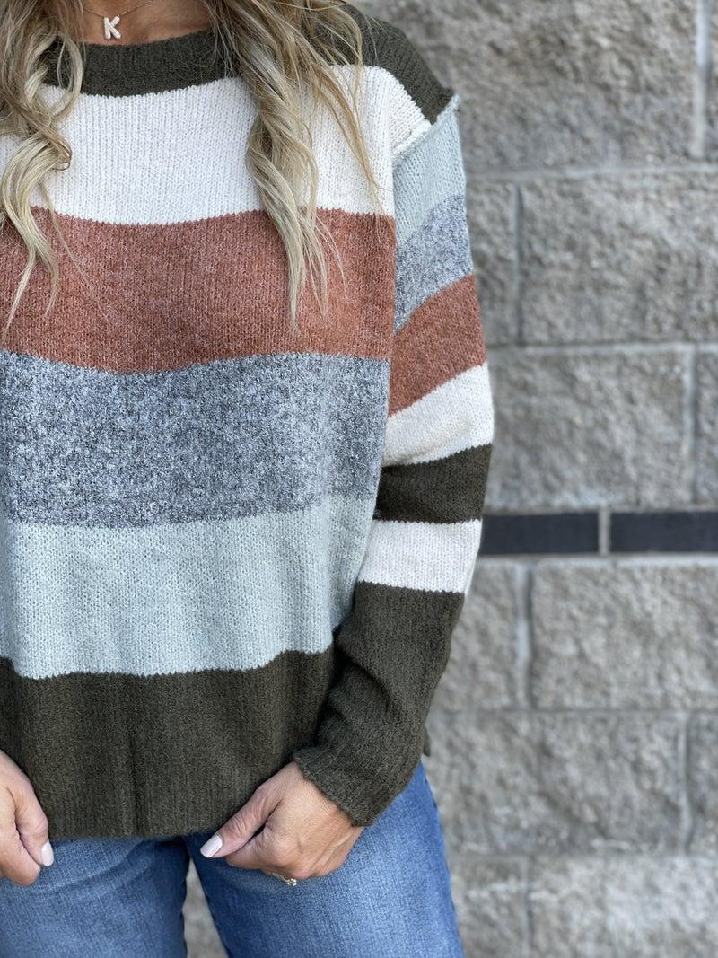 Soft And Smashing Striped Sweater