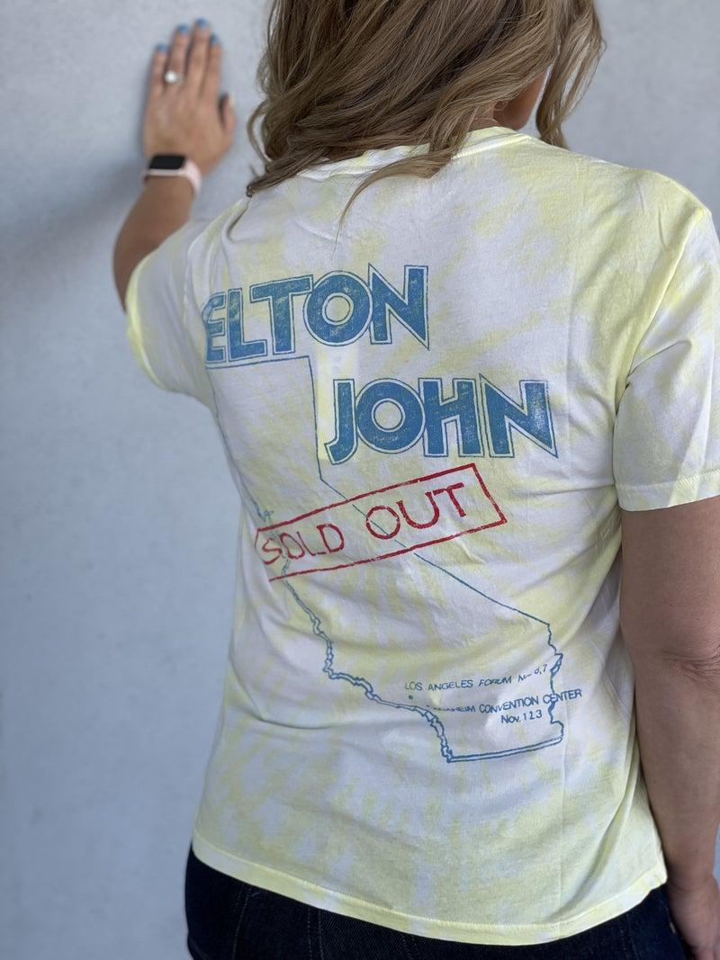 DayDreamer Elton John 1980 Tour Boyfriend Tee