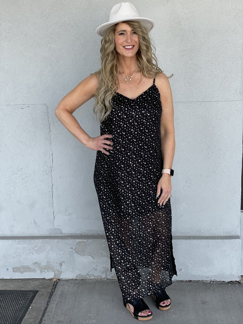 Shooting For The Stars Maxi Dress