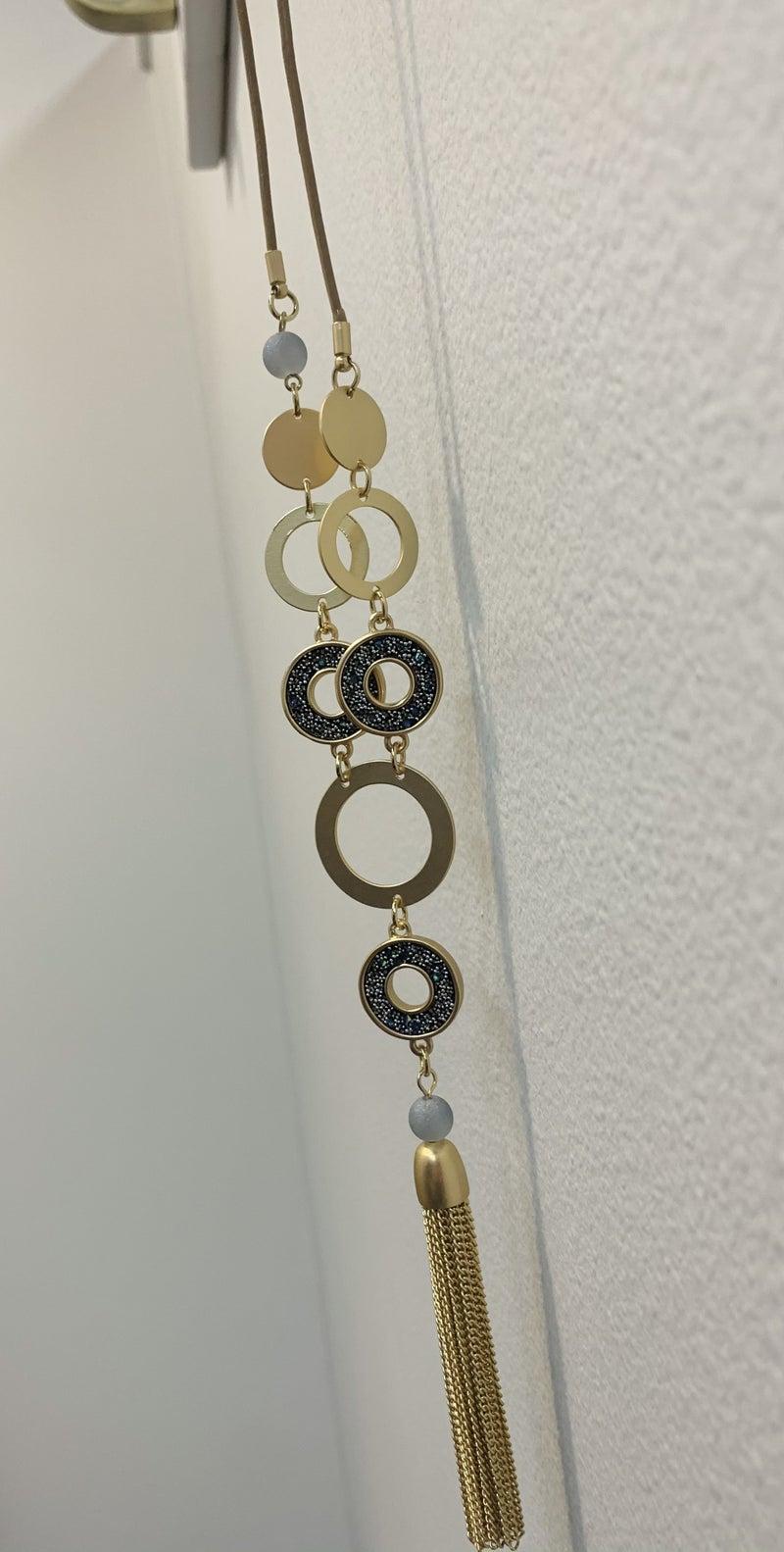 RL Get Connected Tassel Necklace