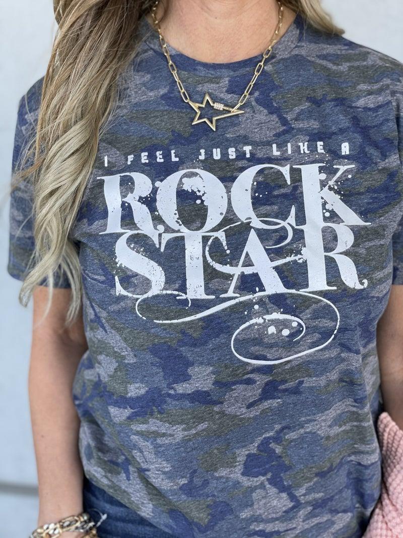 Rock Star Camo Tee