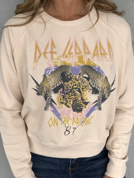 Def Leppard On The Prowl Crew Sweatshirt
