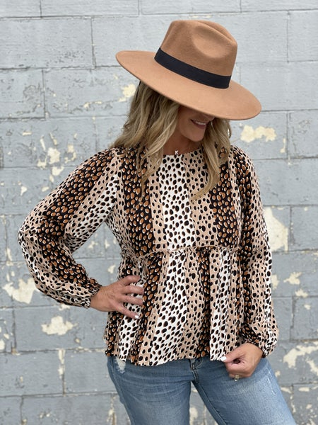 Speckled Spice Top