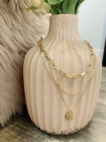 Locked Layers Necklace