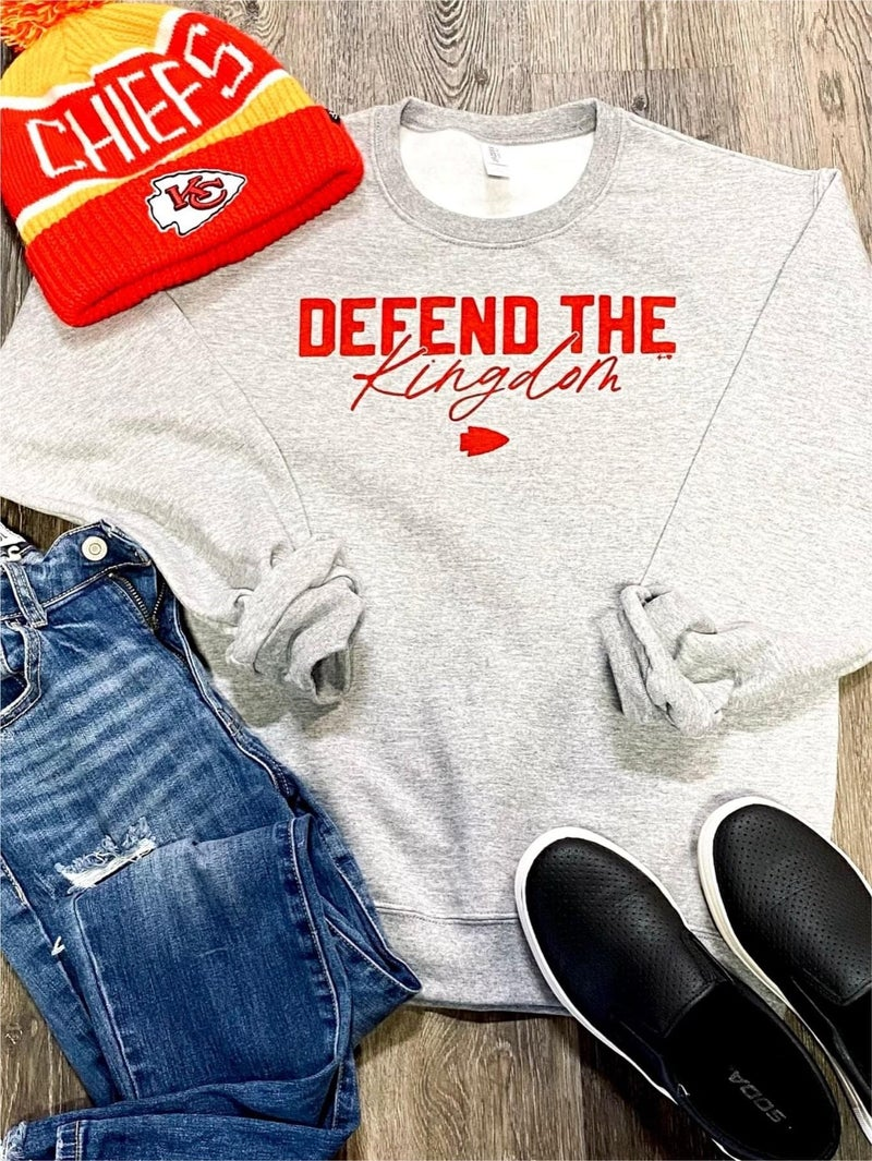 Defend The Kingdom Sweatshirt PRE-ORDER-CLOSED-pls do not order