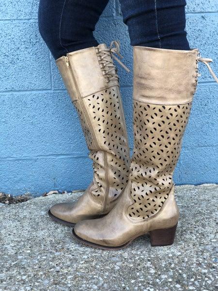 Gabbie Distressed Tall Boots *Final Sale*