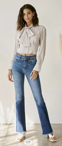 KanCan Cory High Rise Bootcut Jeans 82D