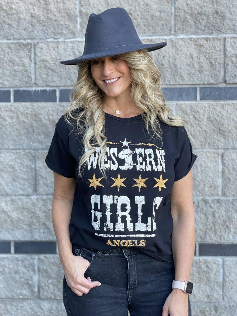 Western Girls Graphic Tee