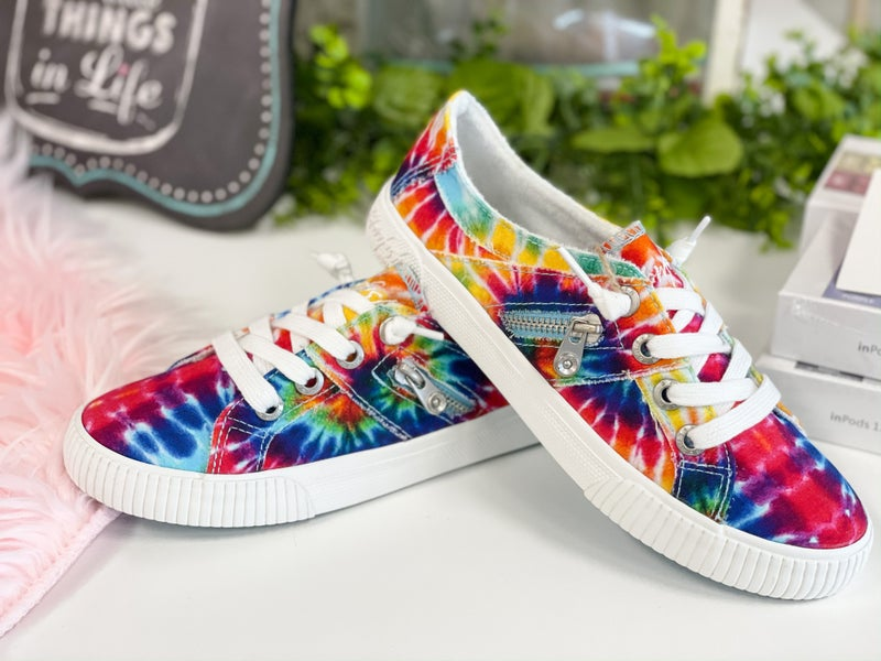 Blowfish Fruit Rainbow Tie Dye Sneaker