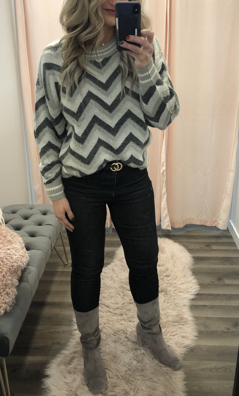 All The Angles Sweater
