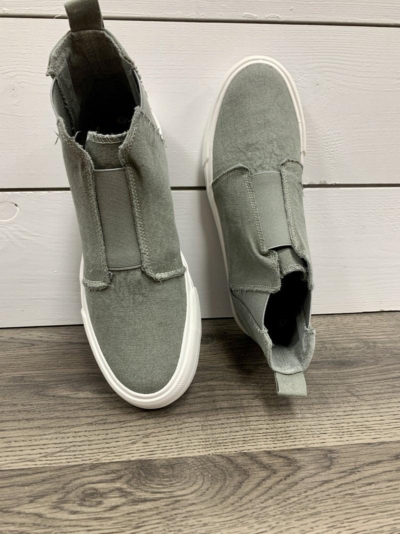 Frankie Grey Sneakers *Final Sale*