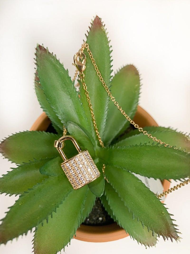 RL Unlock My Heart Necklace