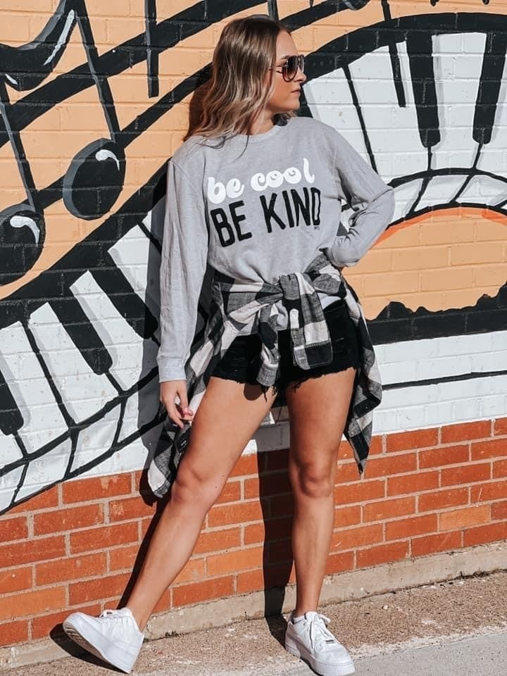Be Cool Be Kind Pullover