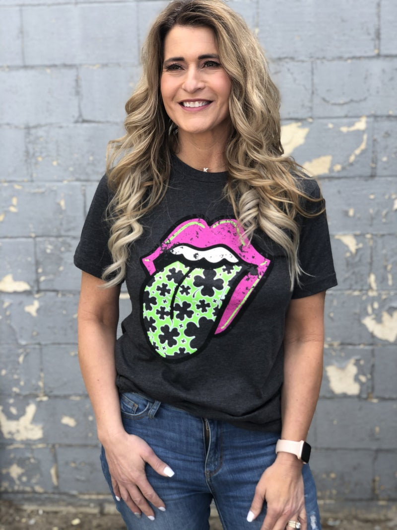 St Patty's Lips Tee