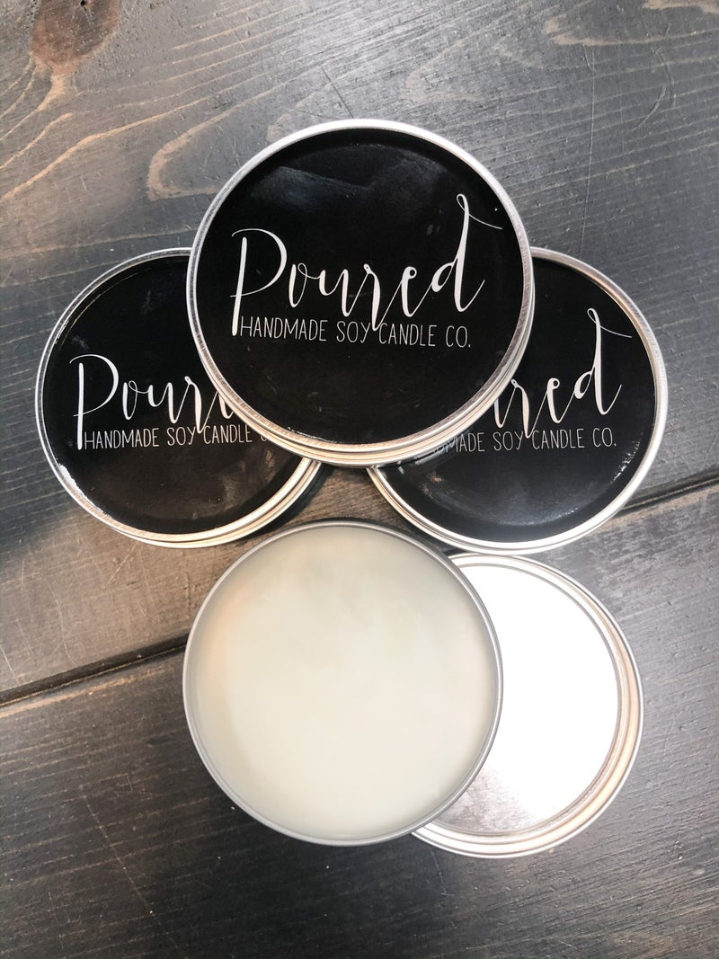 Poured Wickless Candle Tin *Final Sale*