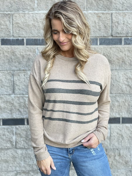 Brushed Stroke Of Luck Top