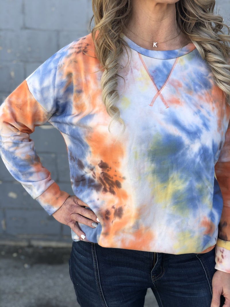 Color Exploding Top