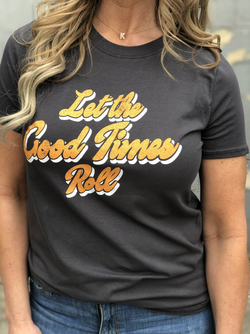 Let The Good Times Roll Retro Tee