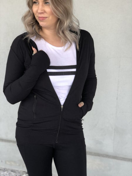 Ribbed All Over Jacket