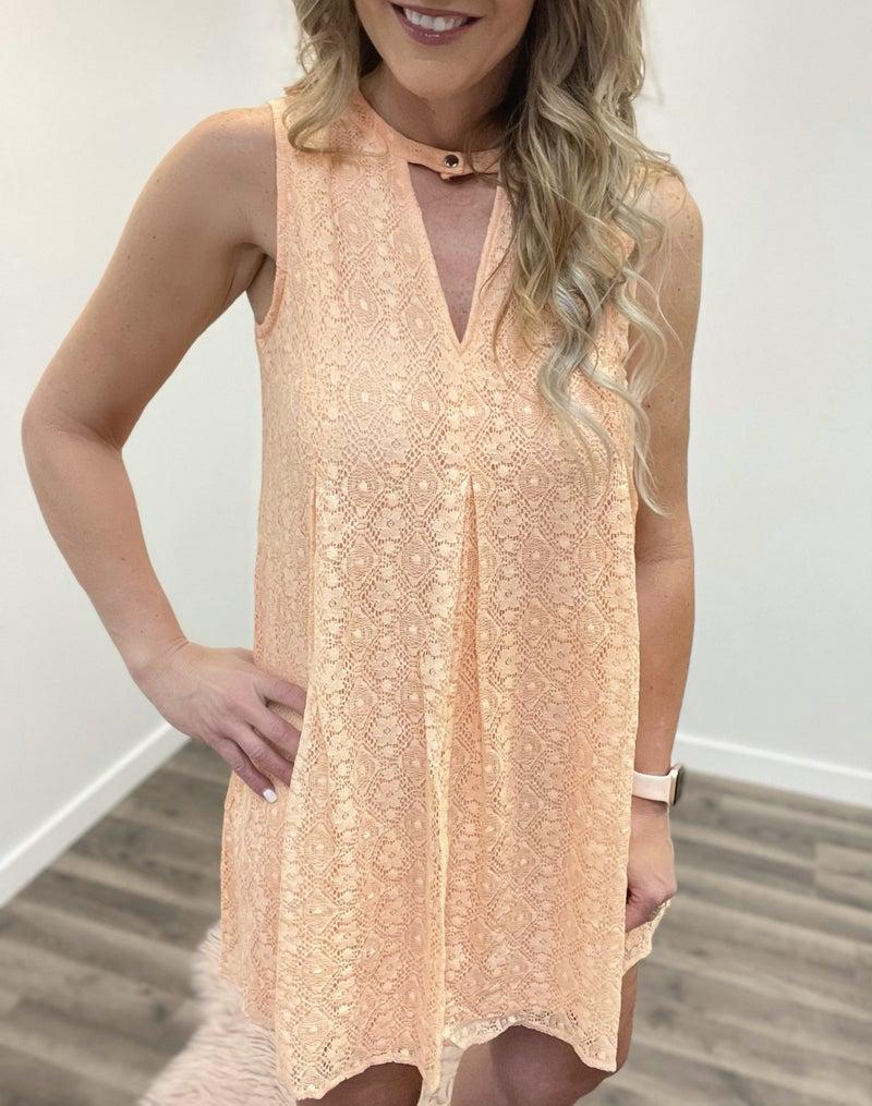 Peach Delight Dress *Final Sale*