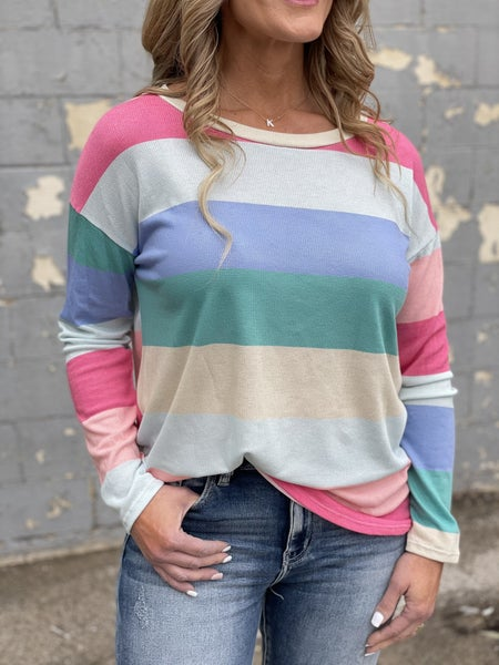 Spring Stripes Top