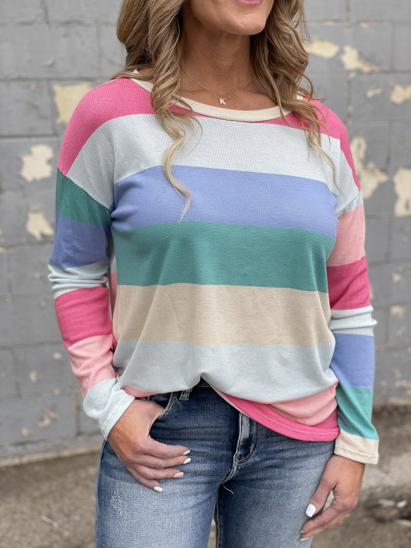 Spring Stripes Top
