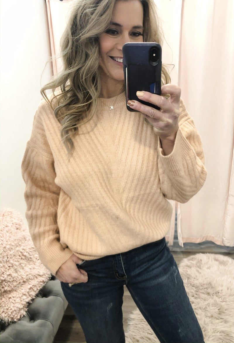 Peach Smoothie Sweater
