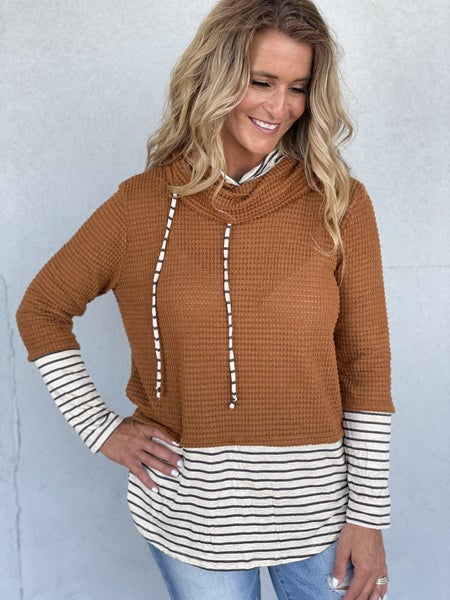 Striped Ambition Top