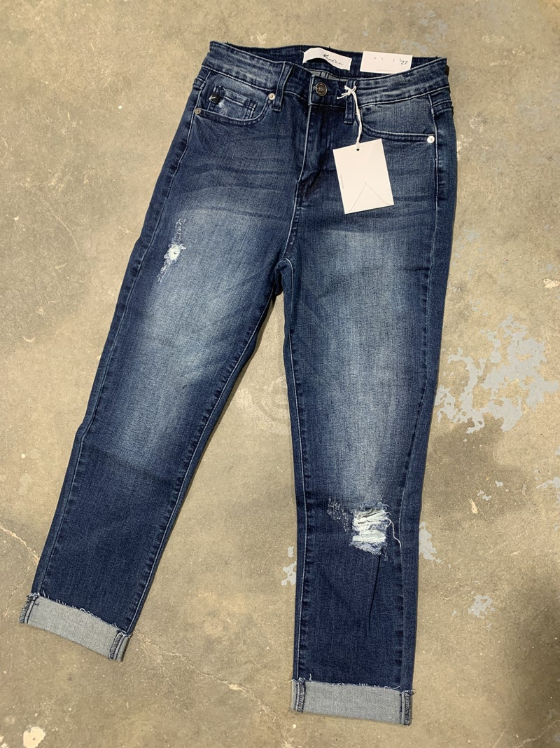 KanCan Debra Wash Crop Jean 19D *Final Sale*