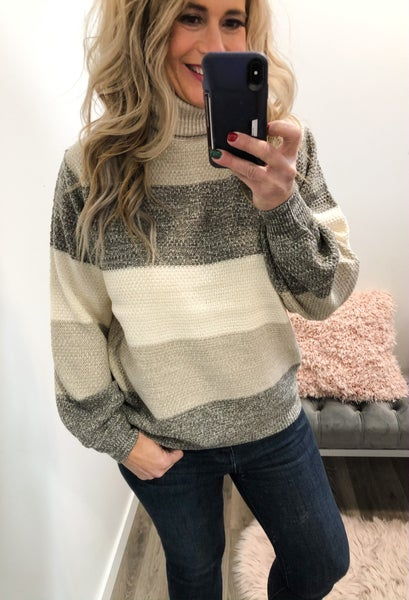All The Tones Color Block Sweater *Final Sale*