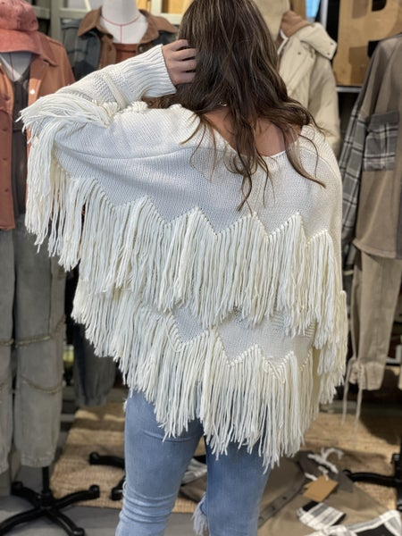 Fringed Out Cardigan