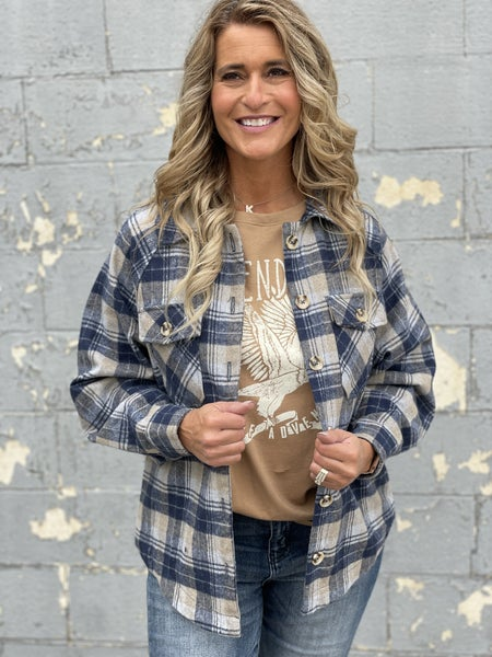 Mad About Plaid Shacket