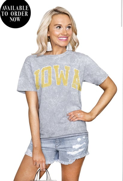 Iowa & Iowa State Tees