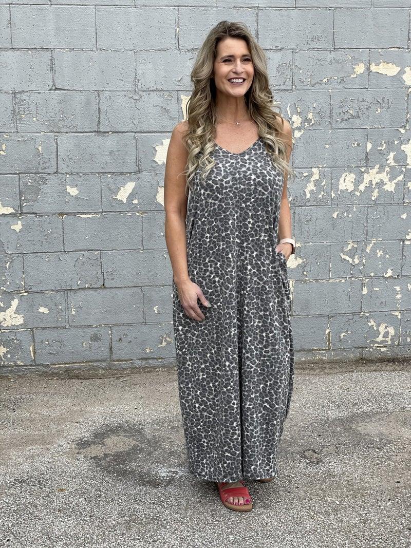 Animal Intrigue Maxi Dress