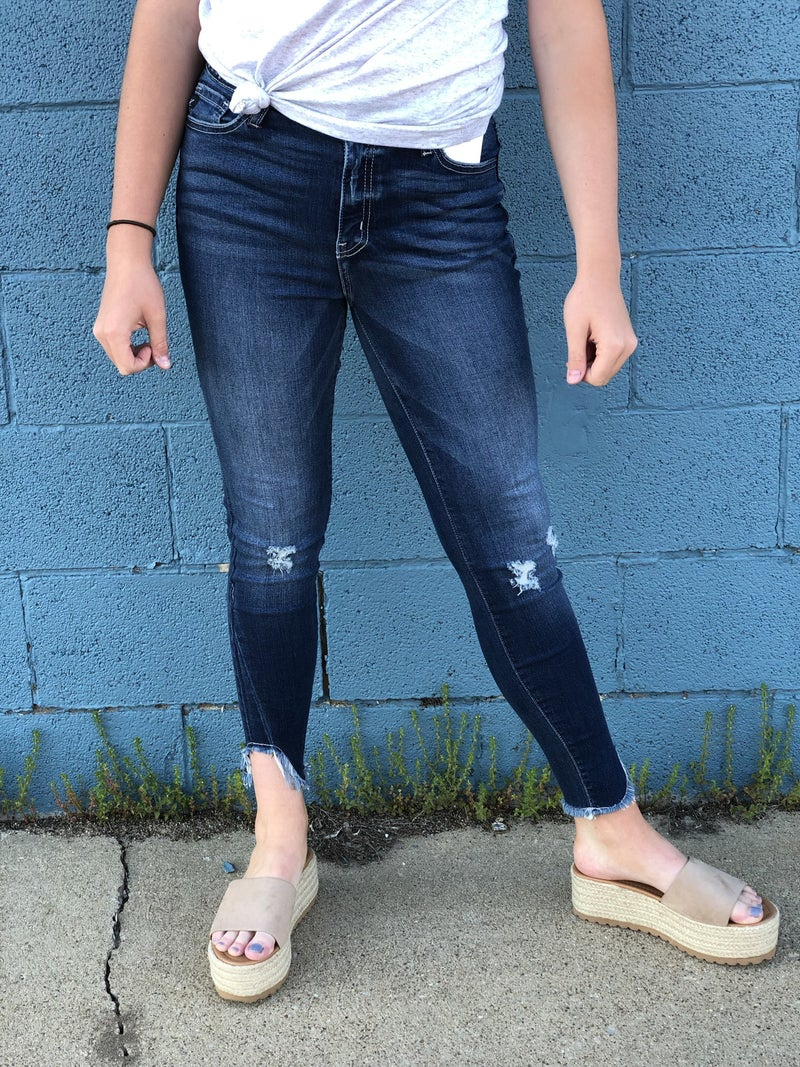 Avery Dk Denim Ankle Jean KC26D *Final Sale*