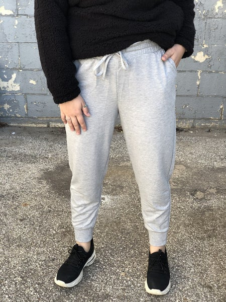Favorite Jogger Heather Grey *Final Sale*