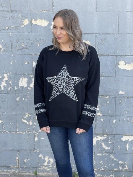 Curvy Star Of The Show Sweatshirt