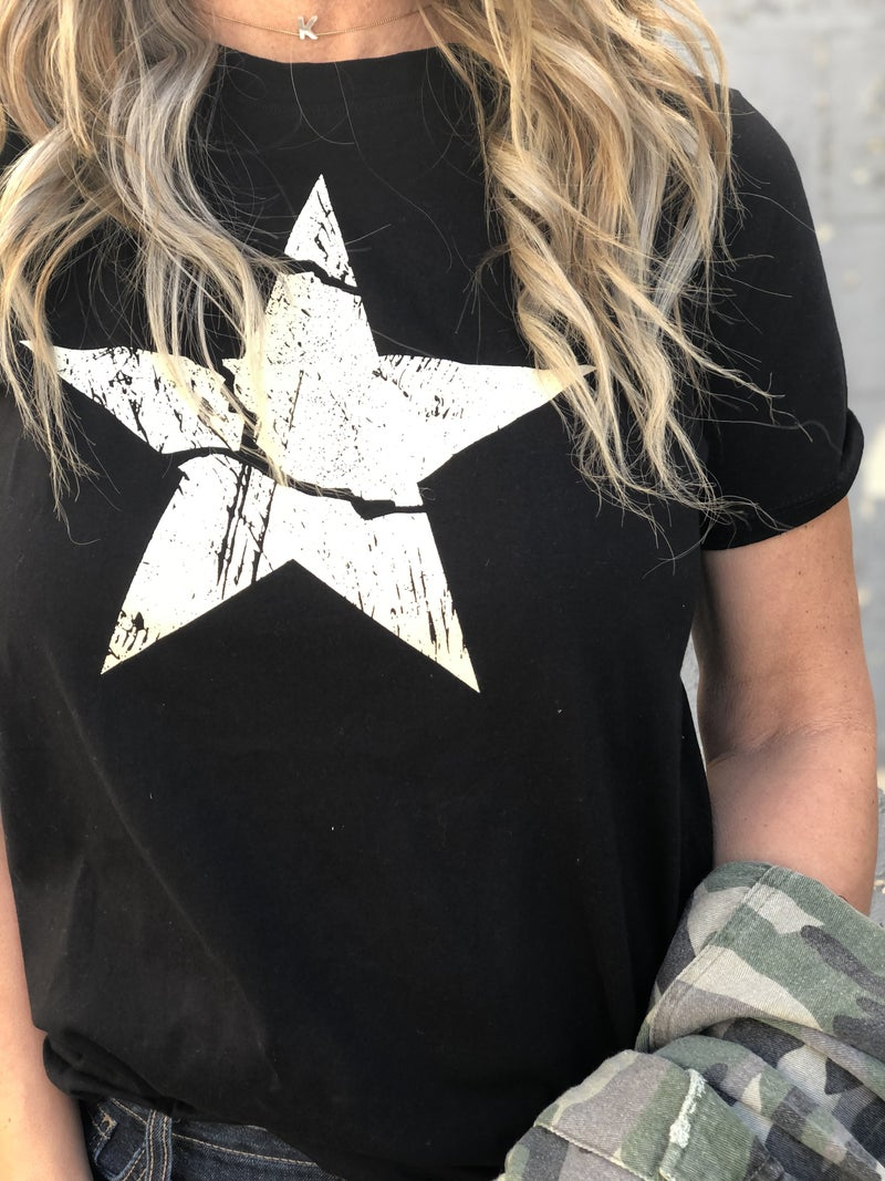 Antique Star Graphic Tee *Final Sale*