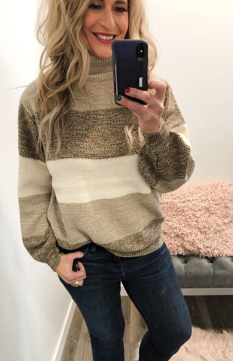All The Tones Color Block Sweater *Final Sale*