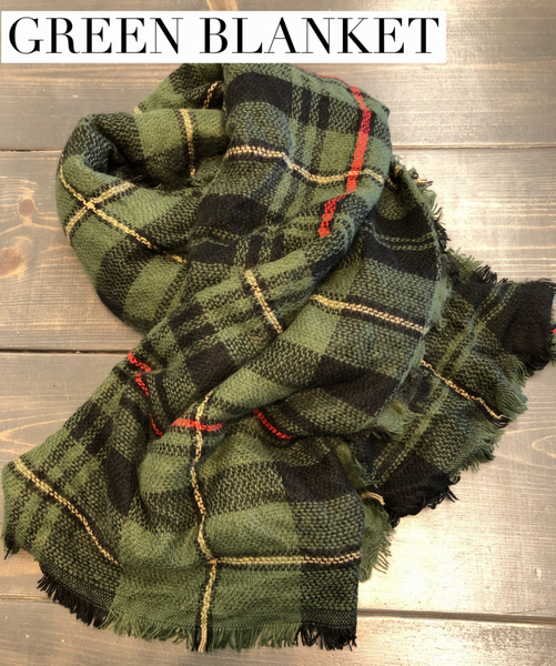 LIVE Plaid Scarves *Final Sale*