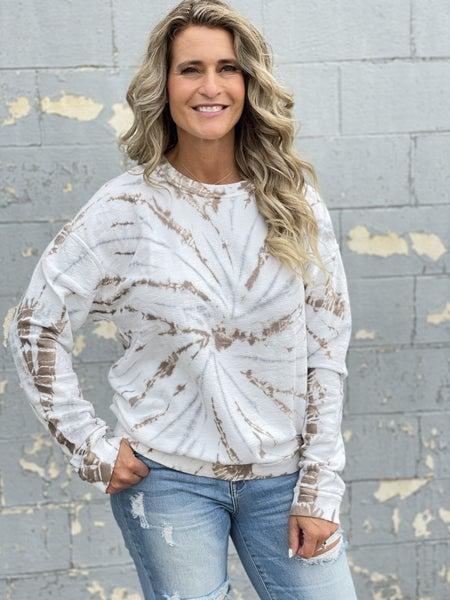 Mudpuddle Swirl Sweatshirt