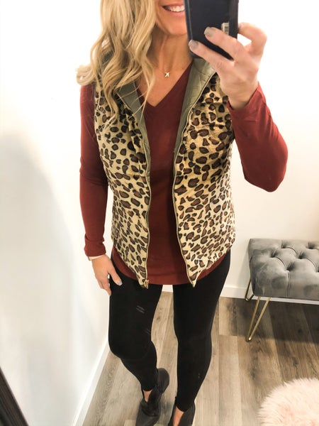 Darcy Reversible Quilted Vest