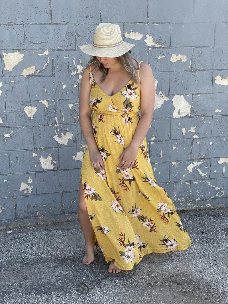 Bees Knees Floral Maxi Dress