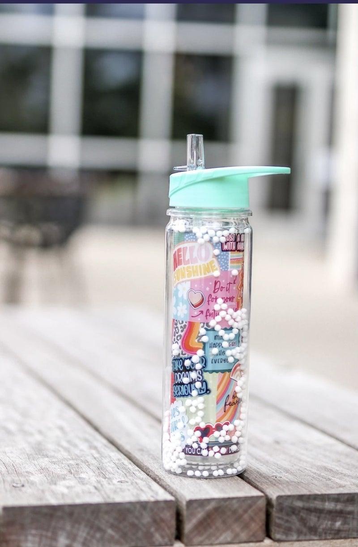 Pom Pom Water Bottle