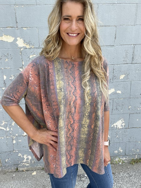 Brushed Off Tunic Top