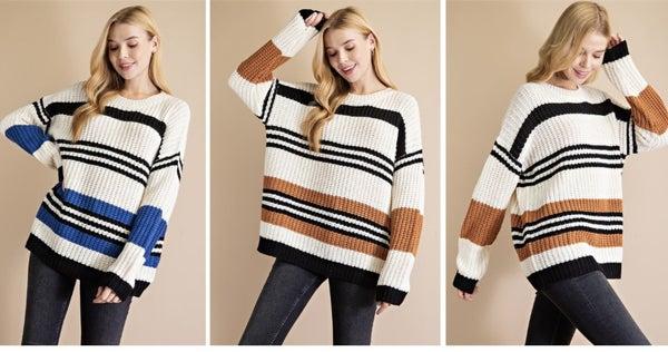 Sweetness Striped Sweater