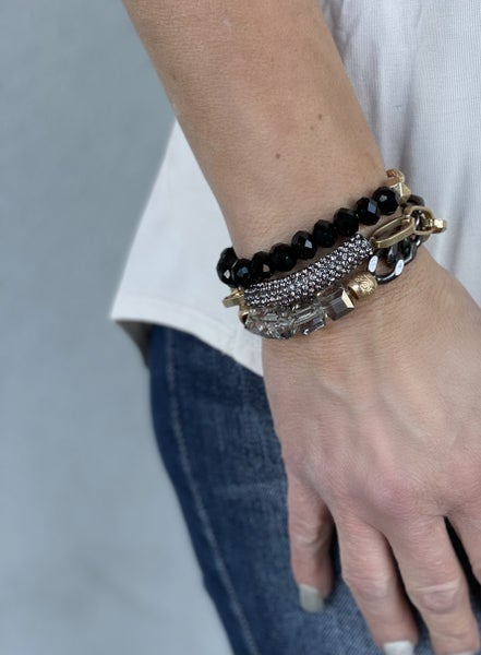 RL On The Edge Stackable Bracelet Set